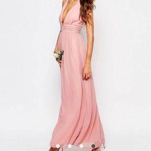 True Decadence Pink Maxi Dress